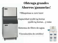 Máquina para hacer hielo en El Salvador