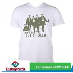 Camisetas de algodon