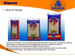 Arroz Blanco El Gringo, Blanquita y Pulido