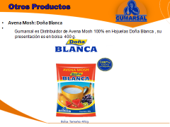 Avena Mosh Doña Blanca