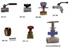 Valvulas y Accesorios de Bronce