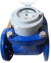 Medidor industrial seco con cuppercan para agua