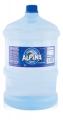 Agua envasada de fuente natural. Envase no retornable Envase de 2.5 Galón.