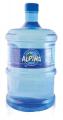 Agua envasada de fuente natural. Envase retornable de 2.5 Galones