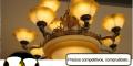 Lámparas de Techo y Pared tipo Candelabro
