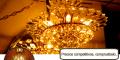 Lámparas de Cristal para Techo y Pared