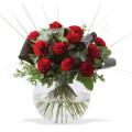 "Arreglo de Rosas ""Pecera de amor"""