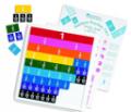 LER-0615 Rainbow Fraction® Tiles