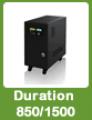 Duration 850/1500VA: Estación de Respaldo Solar de Larga Duración