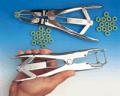 Anillos de goma para castrar y pinza para aplicar anillos (elastrador)
