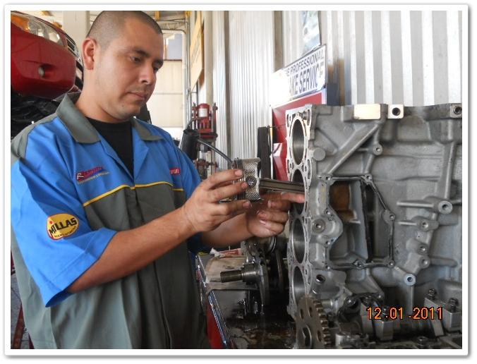 Pedido Rectificación de motores