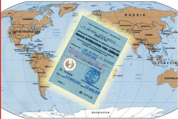 Pedido Licencia Internacional